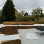 Vegetable Garden Path Preparation